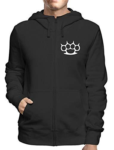 Sweatshirt Hoodie Zip Schwarz FUN1671 Guys Guy Zip Hoodie