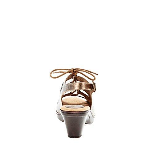 Easy Street Kitt Femmes Large Synthétique Sandale Bronze