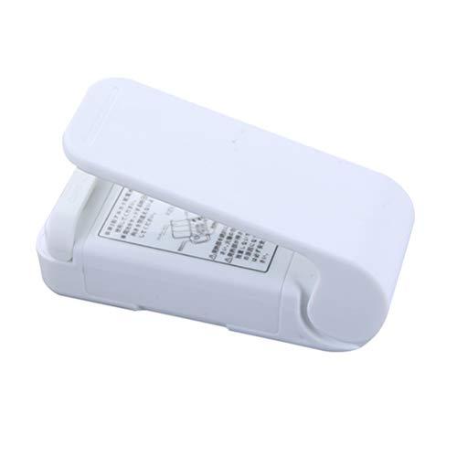 TOPBATHY Tragbares Siegelgerät Mini Bag Sealer Batteriebetrieben (Pink, ohne Batterie) 1St