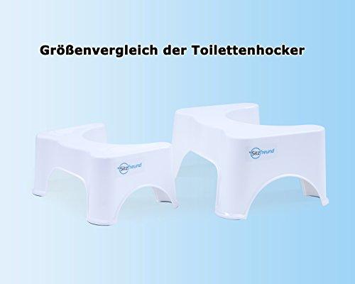 Seduta amico medizinischer toilette sgabello misura cm di