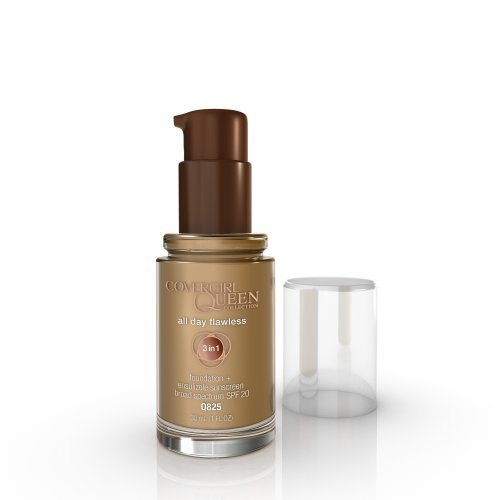 COVERGIRL Queen Collection All Day Flawless Foundation Golden Honey Q825, 1 Oz by COVERGIRL