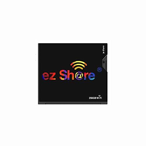IOIOA WiFi CF-Karte, (32 GB, 64 GB, 128 GB, 256 GB) Speicherkarte Kamera Foto WiFi Wireless Transfer-Speicherkarte - Schwarz,256gb