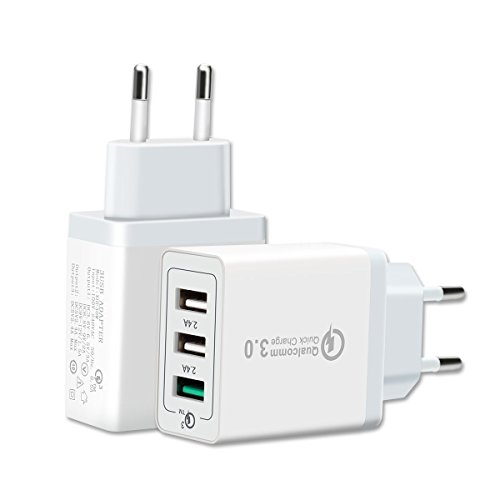 Cargador USB Multiple Qualcomm Quick Charge 3.0 -