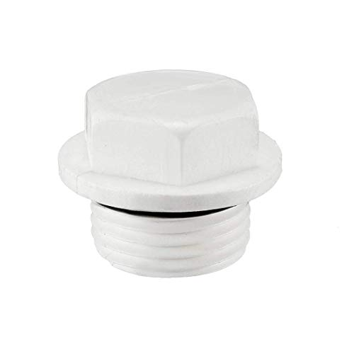 Male Pipe Thread (ZCHXD 1/2PT Male Thread PPR Pipe Fitting End Caps Connector Plug 5 Pcs)