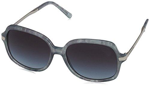 Michael Kors Damen 0MK ADRIANNA II 316111 57 Sonnenbrille, Grey Pastel Tort/Lightgreygradient,