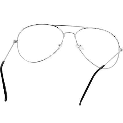 Younky Unisex UV Protected Cateye Stylish Silver Mercury Sunglasses For Men Women Boys & Girls (DRSSM|55|silver) - 1 Sunglass Case