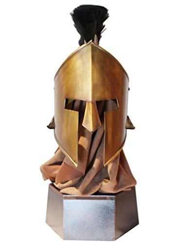 on, Ritter Helm Roman Warrior Gladiator Helme Replica Home Vintage Dekoration ()