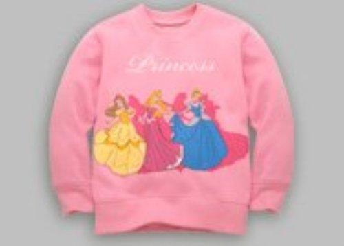 DISNEY PRINCESS-FLEECE CREW SWEAT-SHIRT, Disney Fleece-sweatshirt