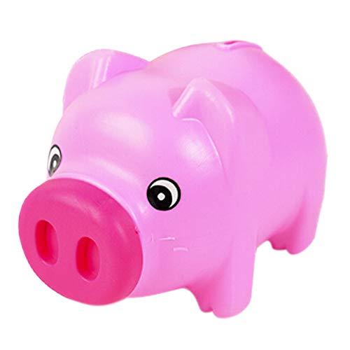 Delleu Kunststoff Tier Sparschwein Sparen Bargeld Münze Geld Box Kinder Kinder Geschenk