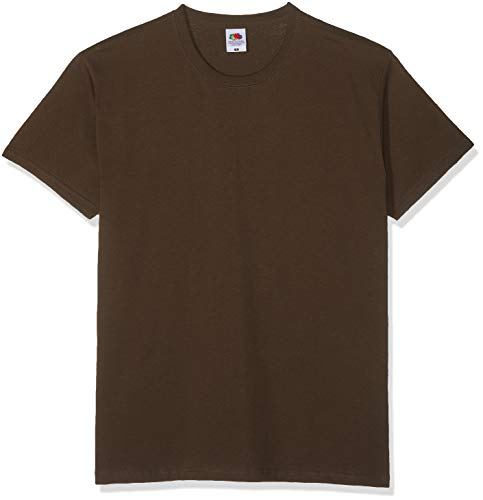 Fruit of the Loom Valueweight T-Shirt Chocolate S