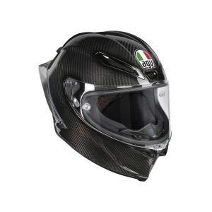 AGV Casco Moto Pista Gp R E2205 Solid PLK, Glossy Carbon, L