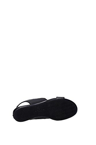 HXW1330U8507Y8B999 Hogan Sandale Femme Cuir Noir Noir