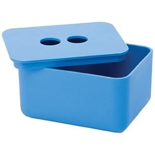 Design Ideas EcoGen Bath Box, Large, Blue by Design Ideas