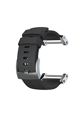 Suunto Core Flat Black Rubber Strap – Correa para relojes, color negro