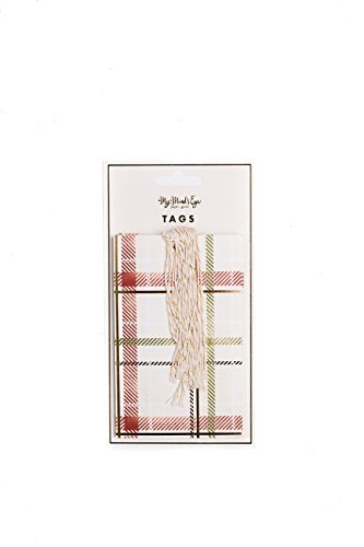 my-minds-eye-holiday-tags-plaid-10-count-with-twine-by-my-minds-eye
