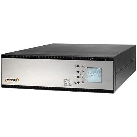 Ondulatore on line doppia conversione INFOSEC E6 LCD RT 10KVA 9000W EVO