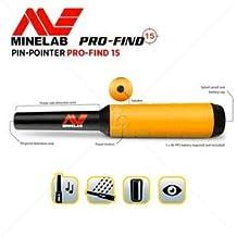 Minelab Pinpointer - Detector de Metales Pro-Find de 15 Pines con Funda para cinturón