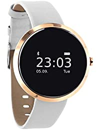 SIONA Damen Smartwatch Android und Smart Watch Damen iOS – Sportuhr Damen Smartwatch Frauen Uhr Fitness Armband Smart Watch iPhone kompatibel Smart Uhr Damen