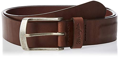 Wrangler MAGNETIC BELT BROWN Ceinture, Marron - Marron, 100 Homme