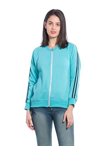 Alan Jones Full Sleeve Solid Woman's Sweatshirt