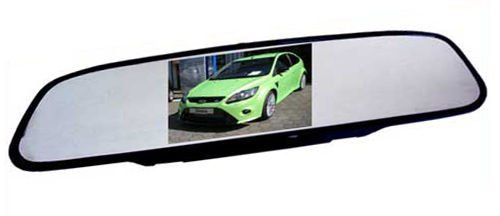 Rear View Mirror Rear View Mirror Monitor 2 video inputs, 5