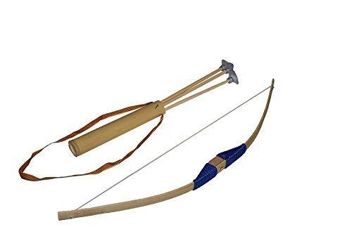 Juguetutto-Arco-peq-Ventosa-AZUL–Juguete-arco-de-madera-para-que-nios-de-todas-las-edades-puedan-probar-su-puntera-lanzando-las-flechas-con-ventosa-que-incorpora