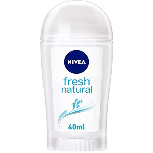 Nivea Fresh Natural Deo-Stift für Frauen, Ohne Aluminium, 1er Pack (1 x 40 ml)