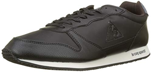 Le Coq Sportif Alpha Winter Craft Black/Dress Blue, Sneaker Uomo, Beige Noir, 43 EU