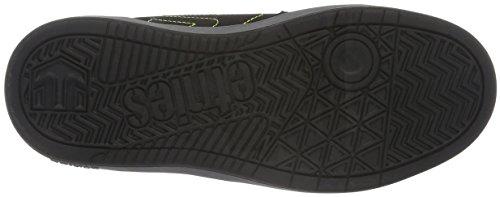 Etnies KIDS FADER LS, Chaussures de Skateboard mixte enfant Noir (Black Grey 570)