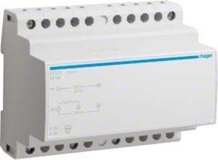 Hager ST315 Sicherheitstraf.12V/AC 5,25A 24V/AC 2,63A -