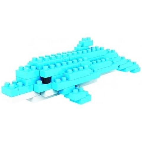 Alta calidad 9319 de plástico Dolphin Mini bloques de diamante montado ladrillo juguetes del bloque