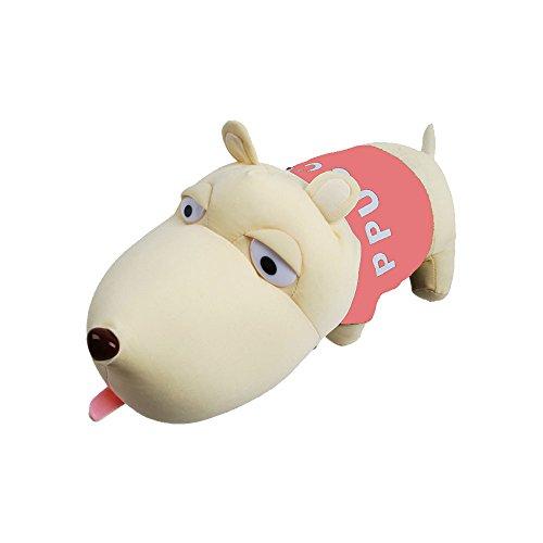 RotSale® 1x Pink Lufterfrischer Puppen Kohle Tasche Auto Deko Cartoon Hund Plüsch Gefüllte Bambus Holzkohle