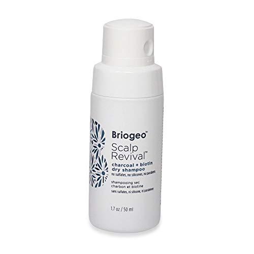 Audio-Technica Briogeo - Scalp Revival Charcoal + Biotin Dry Shampoo, Ohrstöpsel, 7 cm, Schwarz