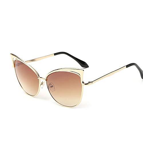 YUHANGH Rosa Vintage Spiegel Weiblich Frauen Cat Eye Sonnenbrillen Damen Sonnenbrillen Für Frauen Eyewear Feminino