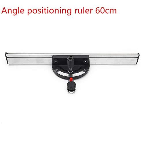 belupai Holzbearbeitung 60/80/100 cm Bandsäge Tischsäge Router Tisch Winkel Gehrungslehre mit Zaun Für T Slot T Track