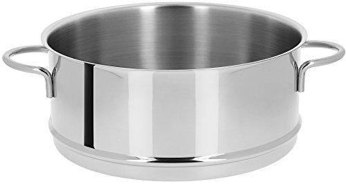 Cristel - ECV26S - Élément cuit-vapeur inox 26cm - Collection Mutine