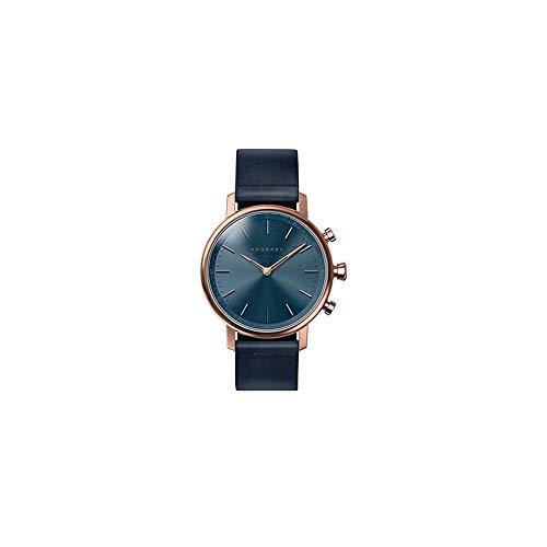Kronaby - Montre Hybride Kronaby Carat bracelet bleu - cadran Bleu 38 mm