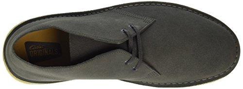 Clarks Originals, Desert Boots Homme Noir (Charcoal)