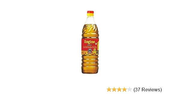 Engine Brand Kachi Ghani Mustard Oil - 1 Litre: Amazon in