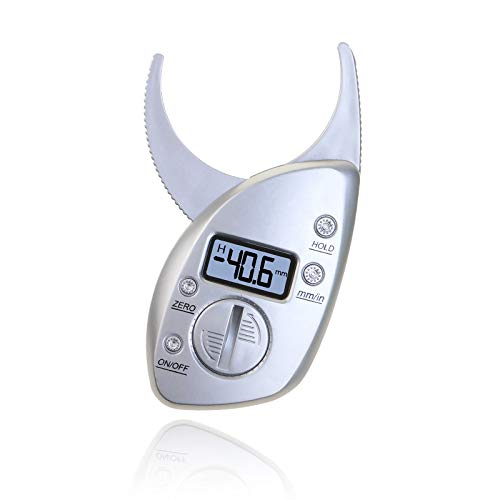Digital-körperfett-bremssattel (QIA Digitale Körperfettmessschieber Elektronische Fettmessung Tester Waagen Fitness-Monitore Analyzer Menschliche Skinfold Abnehmen Messgeräte)
