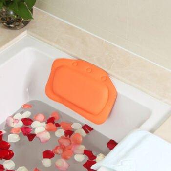 Pingofm Bath pillow bathroom with universal suction PVC foaming bath ...