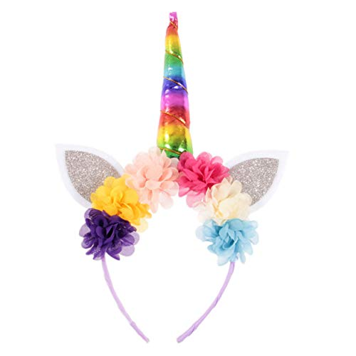 QIangpei Ungewöhnliche Kinder Baby Unicorn Horn Head Party Haarband Fancy Dress Cosplay Kostüm süß(None 4)