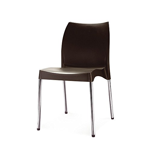 Nilkamal Novella Series 07 Chair (Black)