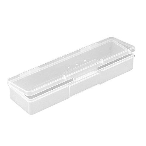La Cabina Boîte de Rangement Plastique Vernis à Ongles Stockage Ongles Boîte à Vernis Nail Art Transparent