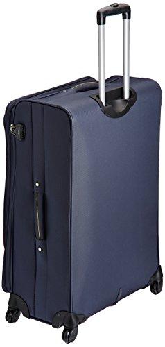 699ba8d21 Buy Skybags Murphy Polyester 78 cms Blue Suitcase (STMURW78DBL) on Amazon |  PaisaWapas.com
