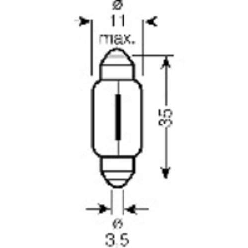 Lampe 12 V 5 W SV8,5-8 CT