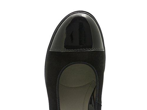 ara Marsala, Chaussures à talons - Avant du pieds couvert femme Noir