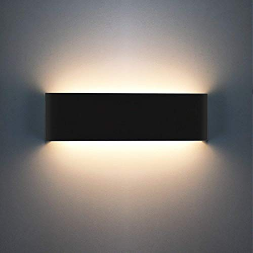 XIAJIA 12W LED Lámpara de pared Interior,Moderna Apliques de Pared,Moda Agradable Luz de Ambiente,perfecto...
