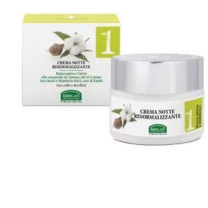 Helan - linea viso 1 crema notte rinormalizzante 50 ml. riequilibrante, nutriente, purificante