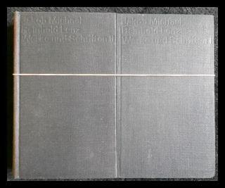 Werke und Schriften. Two Volumes